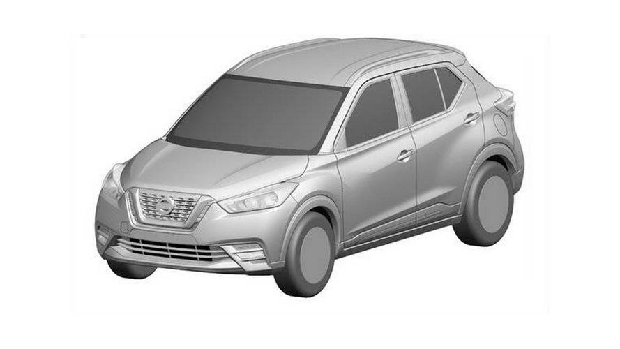 Nissan Kicks aparece em imagens de patente e com motor 1.2 turbo na China