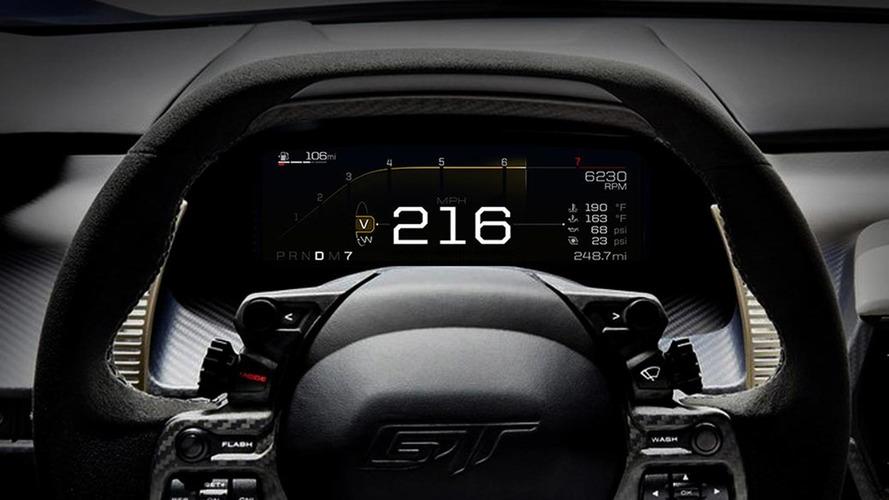 Ford GT - Cinq modes de conduite pour s'adapter à toutes les situations