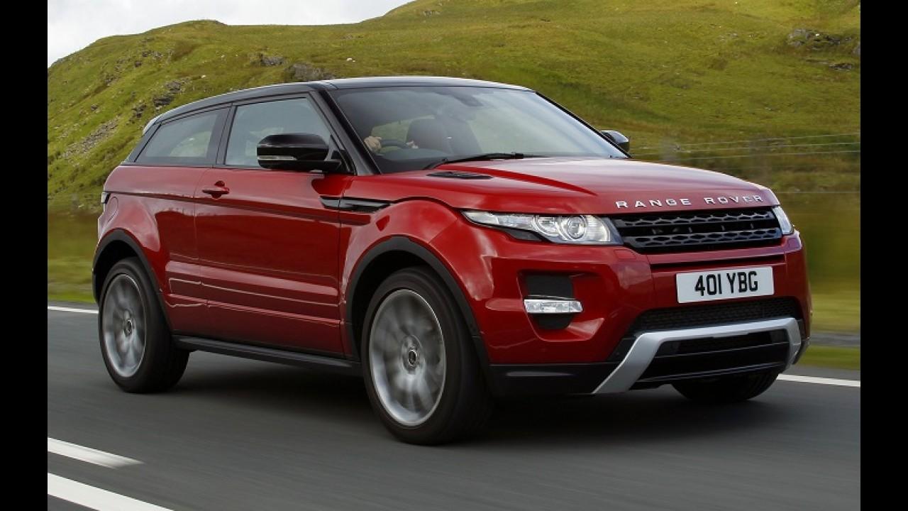Land Rover anuncia recall para o Evoque após denúncia de negligência