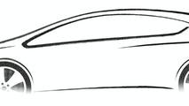 2010 Vauxhall/Opel Astra teaser sketch