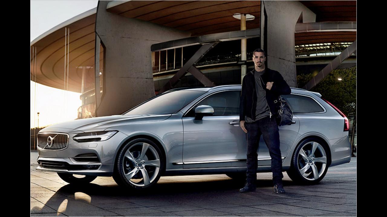 Zlatan Ibrahimovic: Volvo V90