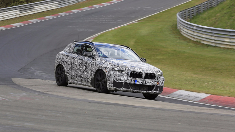 Photos espion - Un BMW X2 musclé aperçu sur le Nürburgring