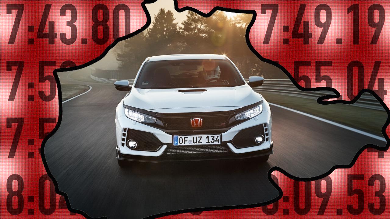 Honda Civic Type R Ring Times Lead