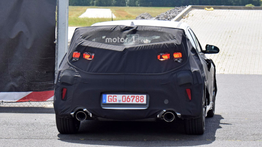 Hyundai Veloster Spied With Massive Exhaust Tips Hints At N Model