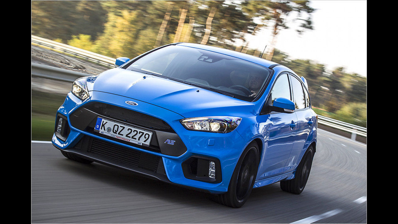 Platz 6: Ford Focus RS 2016