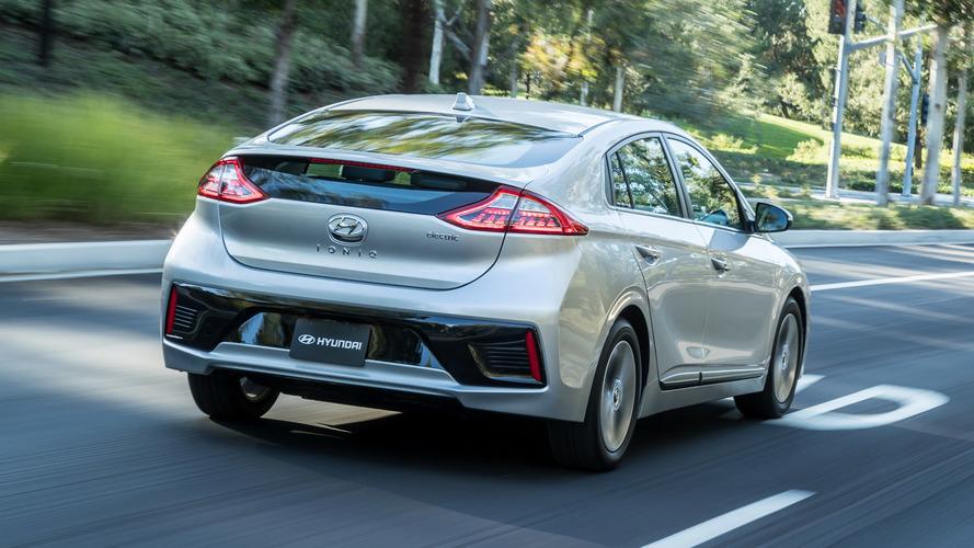 Hyundai Ioniq EV ve PHEV 2019'da yenilenecek