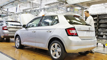 Skoda Fabia milestone production