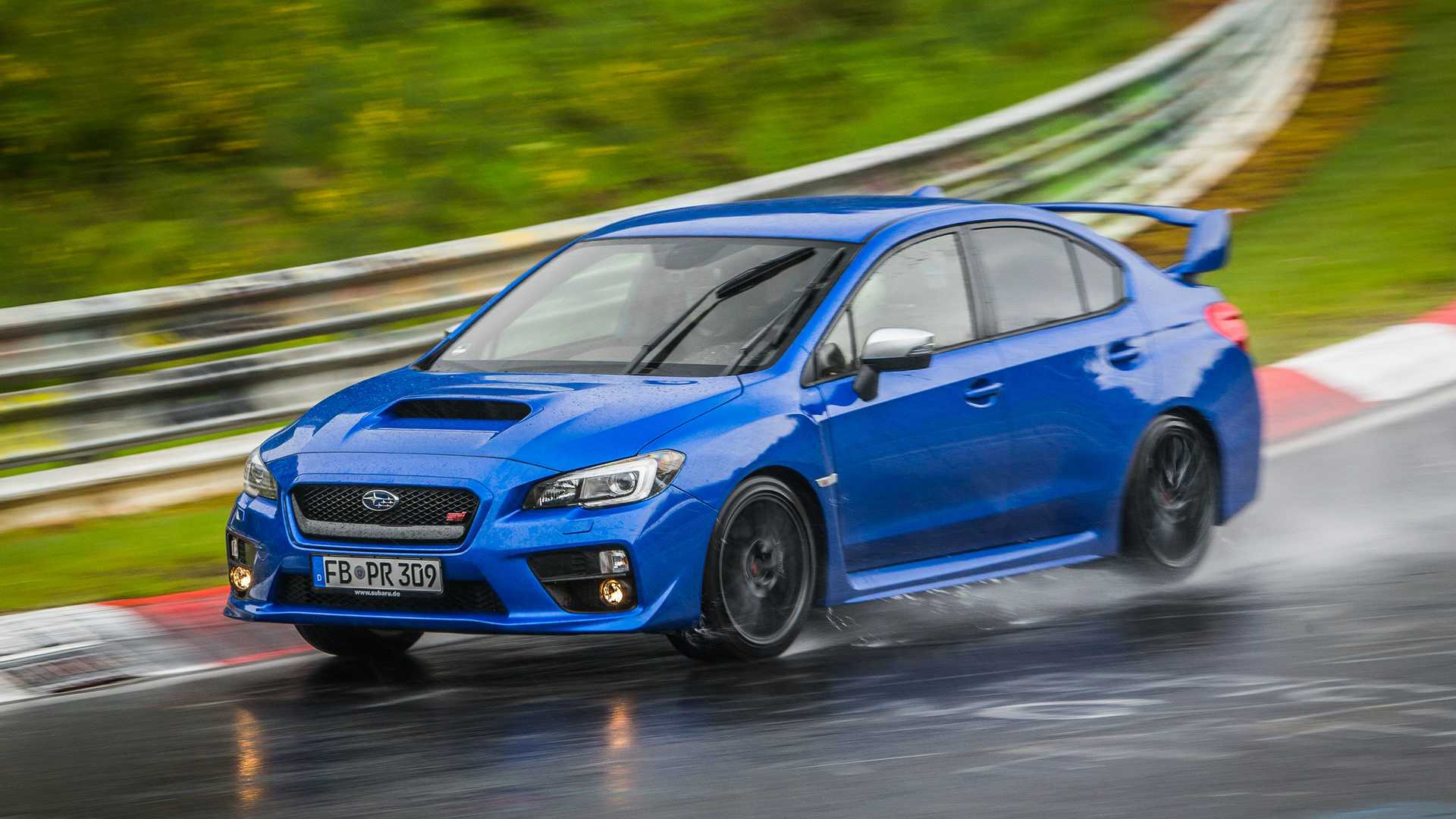 Why The Subaru WRX STI Is Perfect For Lapping The 'Ring In