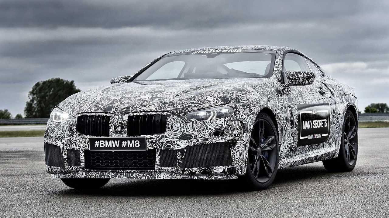 BMW M8 2017 camuflado