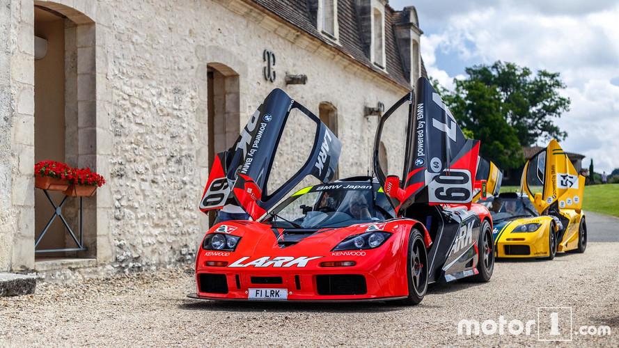 PHOTOS - Découvrez les McLaren sur les routes du pays de Bordeaux