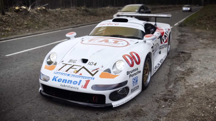 Street-Legal Porsche 911 GT1 Is A Sight To Behold On English Roads
