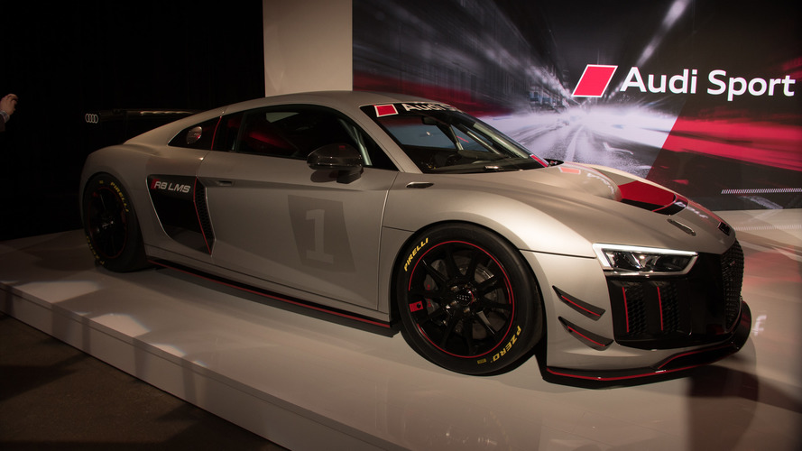 Audi R8 LMS GT4 Arrives As Customer Racers' Newest Dream Car