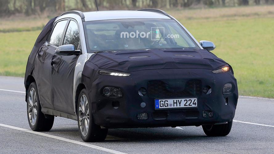 Hyundai Kona Nürburgring'de yakalandı