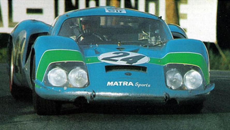Matra Pescarolo Le Mans 1968