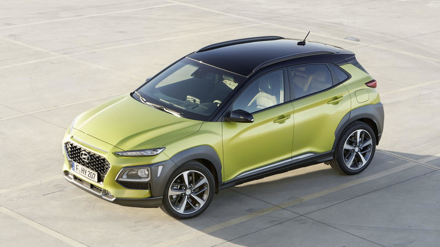 Hyundai Kona EV Will Have Two Battery Options, 210-Mile Range