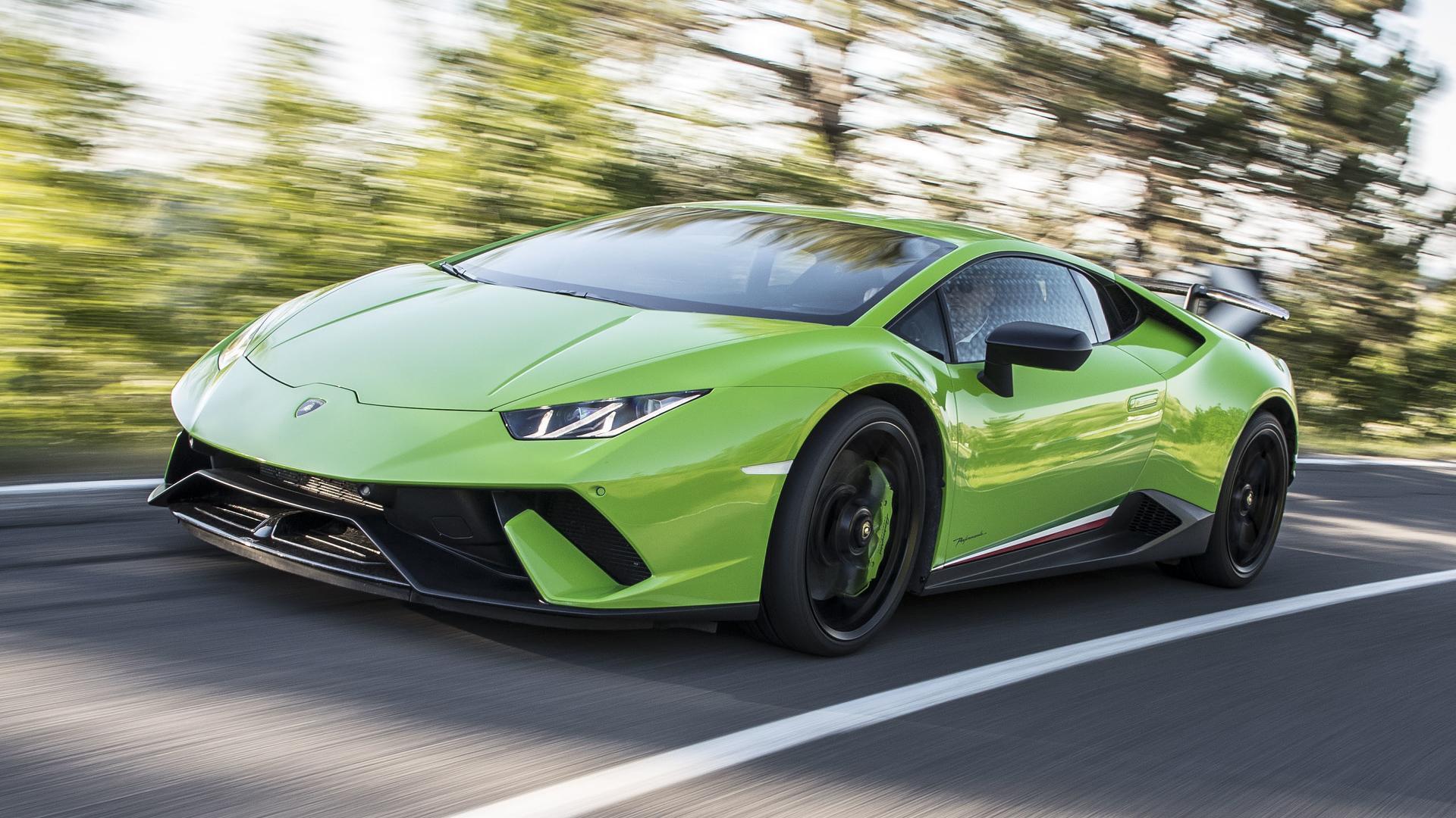 9. Lamborghini Huracan Performante