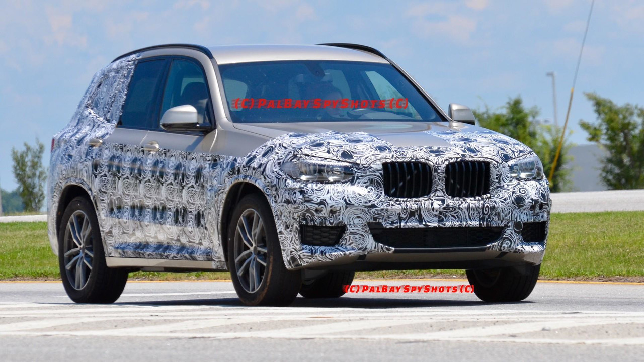 2019 BMW X3 yeni casus fotoğrafları