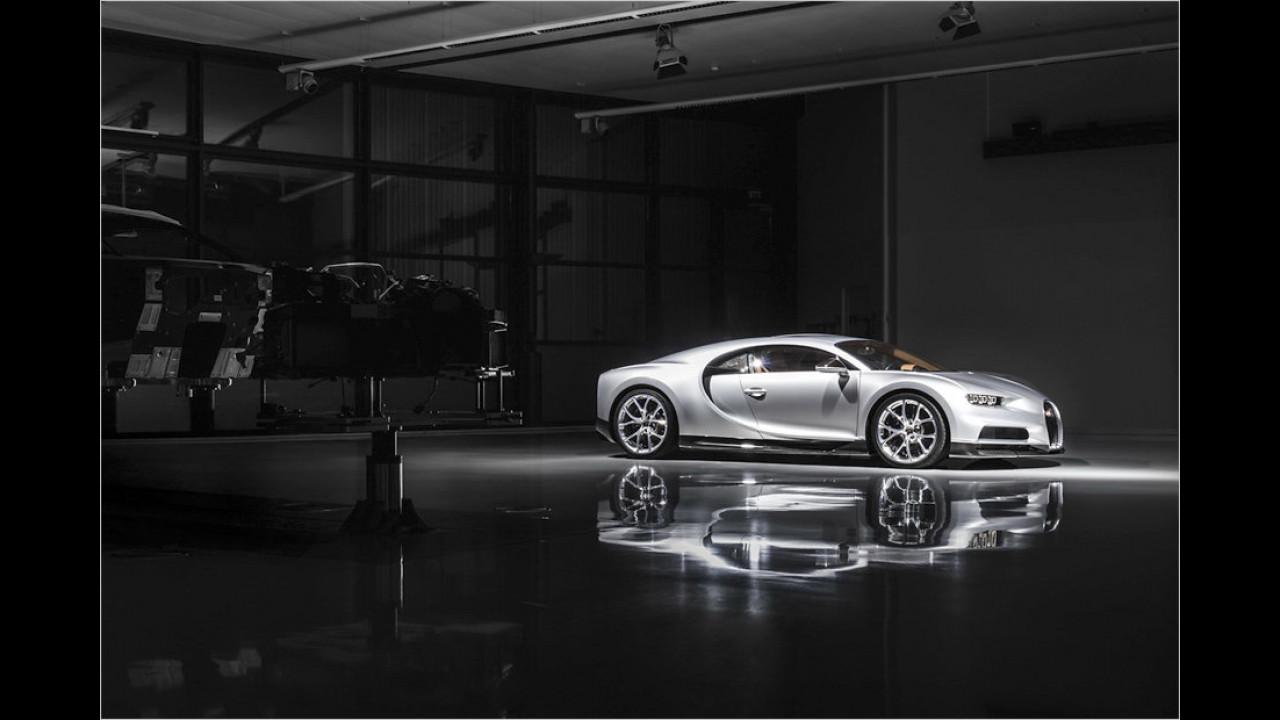 Bugatti startet Chiron-Produktion