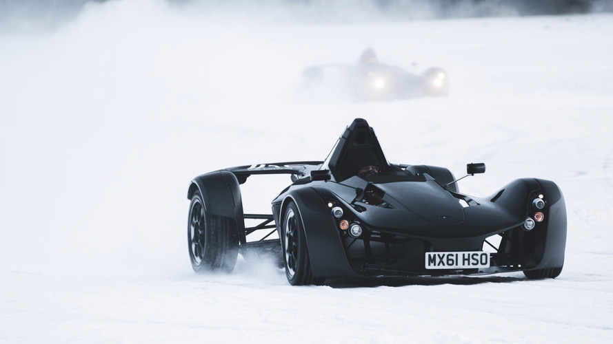 Watch BAC Mono supercars do their ice scraper impressions in Sweden