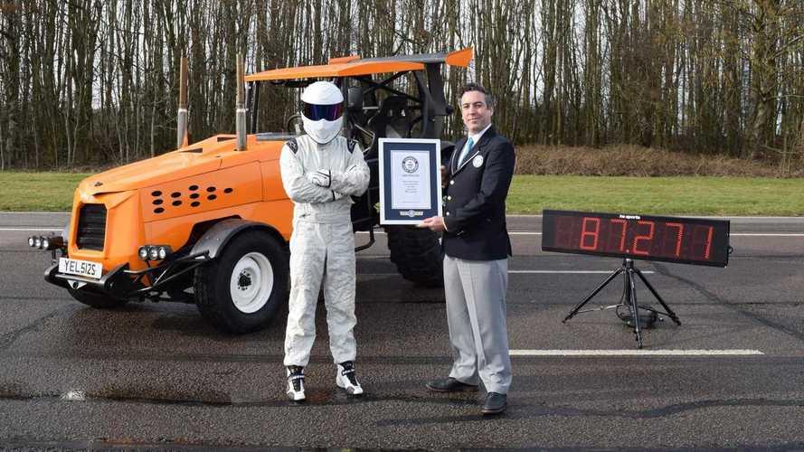 Gyorsulási rekordot döntött a Top Gear 500 lóerős traktorja