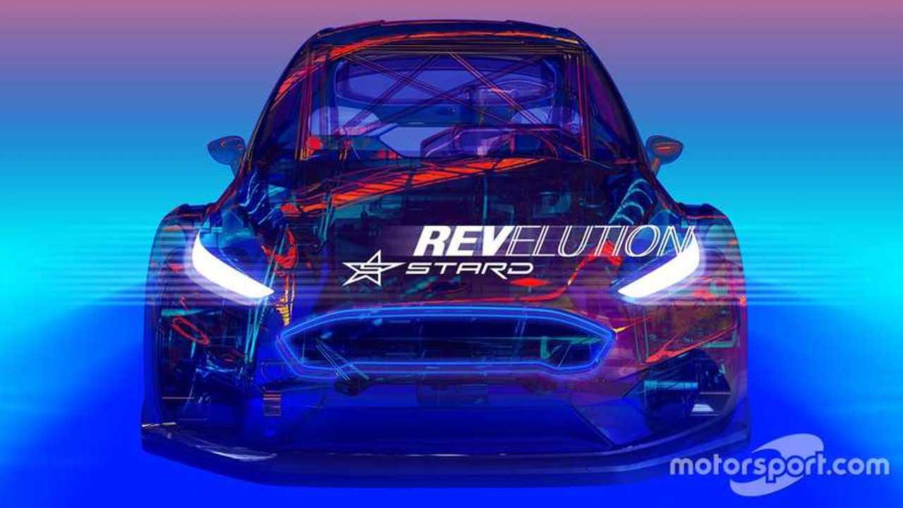 STARD Ford Fiesta ELECTRX projekt E rallycross EV demonstration car