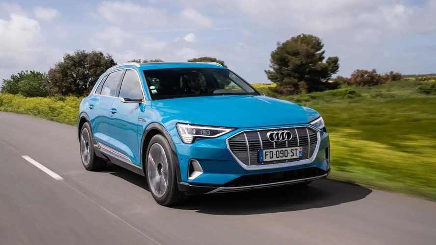 Audi e-tron, la prova su strada