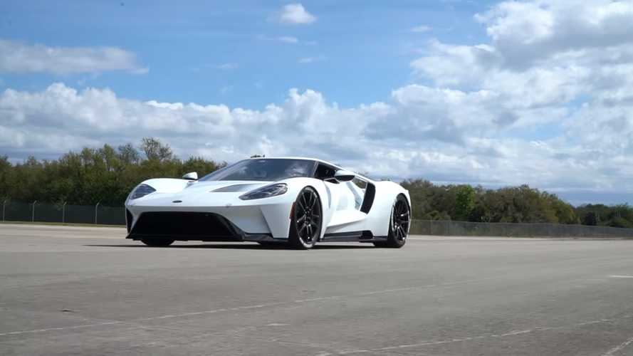 Ford GT Top Speed At KSC