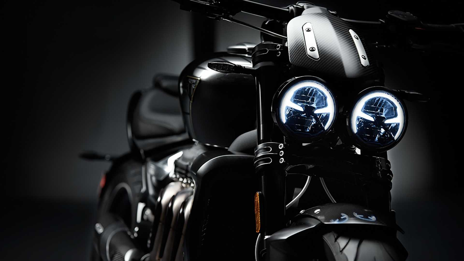 Triumph Shows Off New Rocket 3 Tfc With Upsized Engine