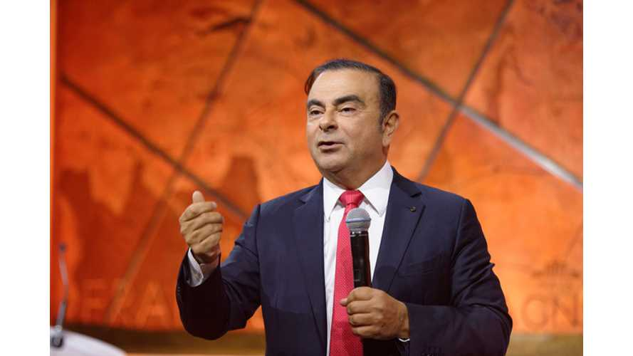 Nissan's Carlos Ghosn Won't Say It, But He's Thinking It
