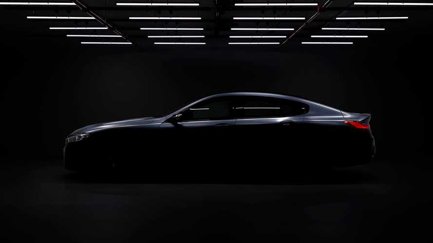 BMW 8 Series Gran Coupe Officially Teased, Reveal Set For June