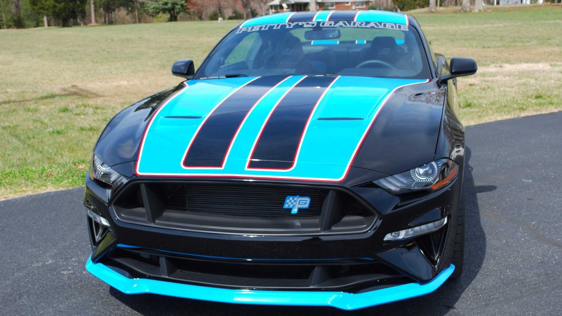 "[""2019 Petty's Garage Warrior Mustang Available To Public""]"