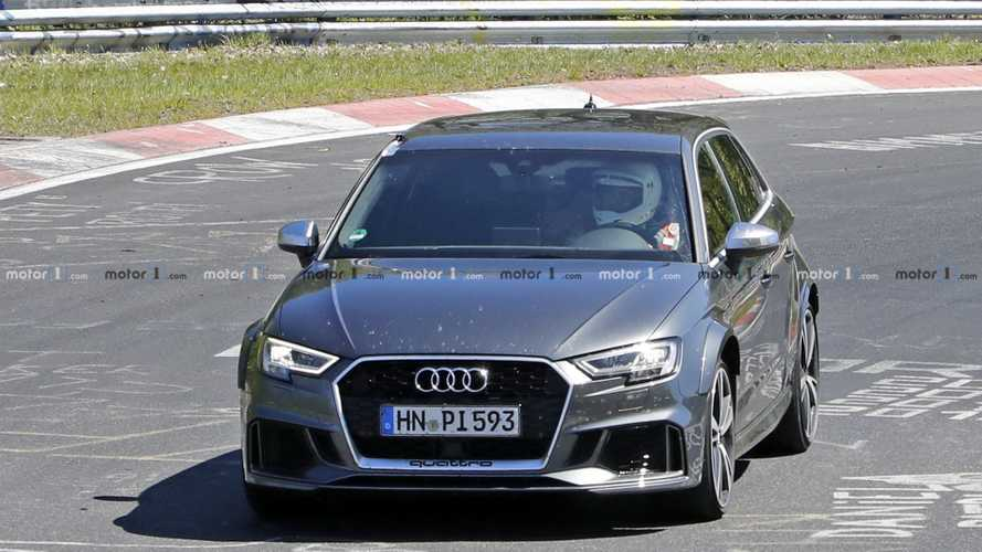 Next-gen Audi RS3 mule spy photos