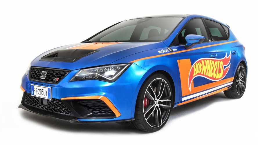 Seat Leon Cupra Hot Wheels - Une version unique aux Motor1Days