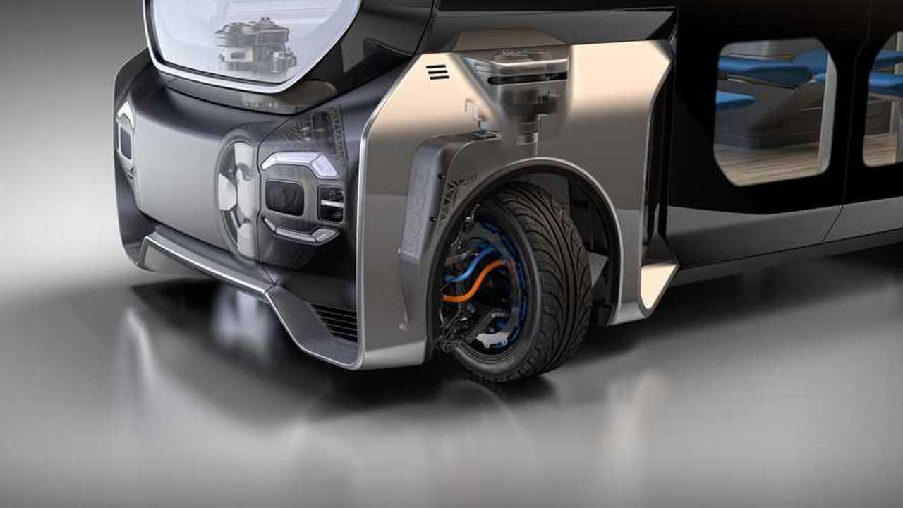 Protean Electric - electric drive, 360-degree corner module Protean360+