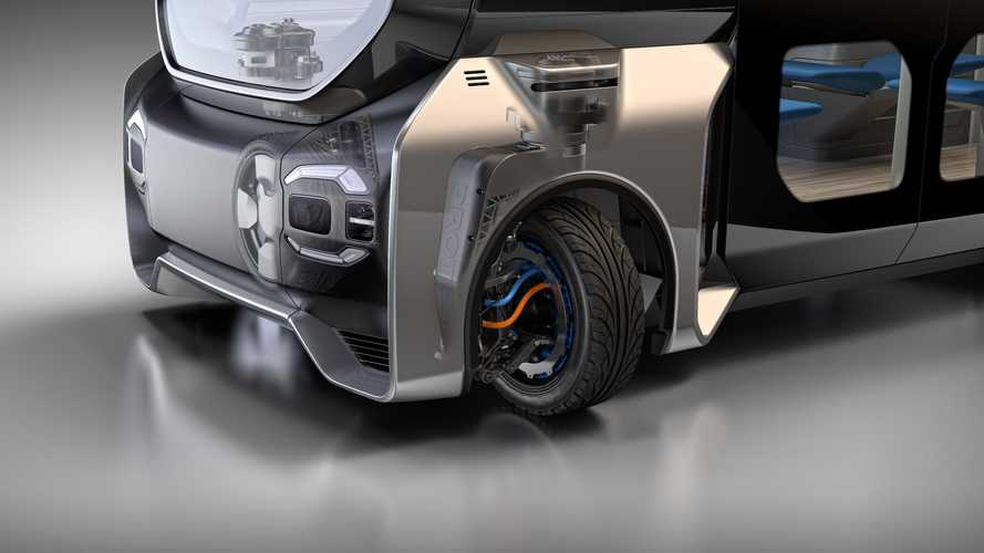 Protean Presents 360-Degree Electric Drive Corner In-Wheel Module