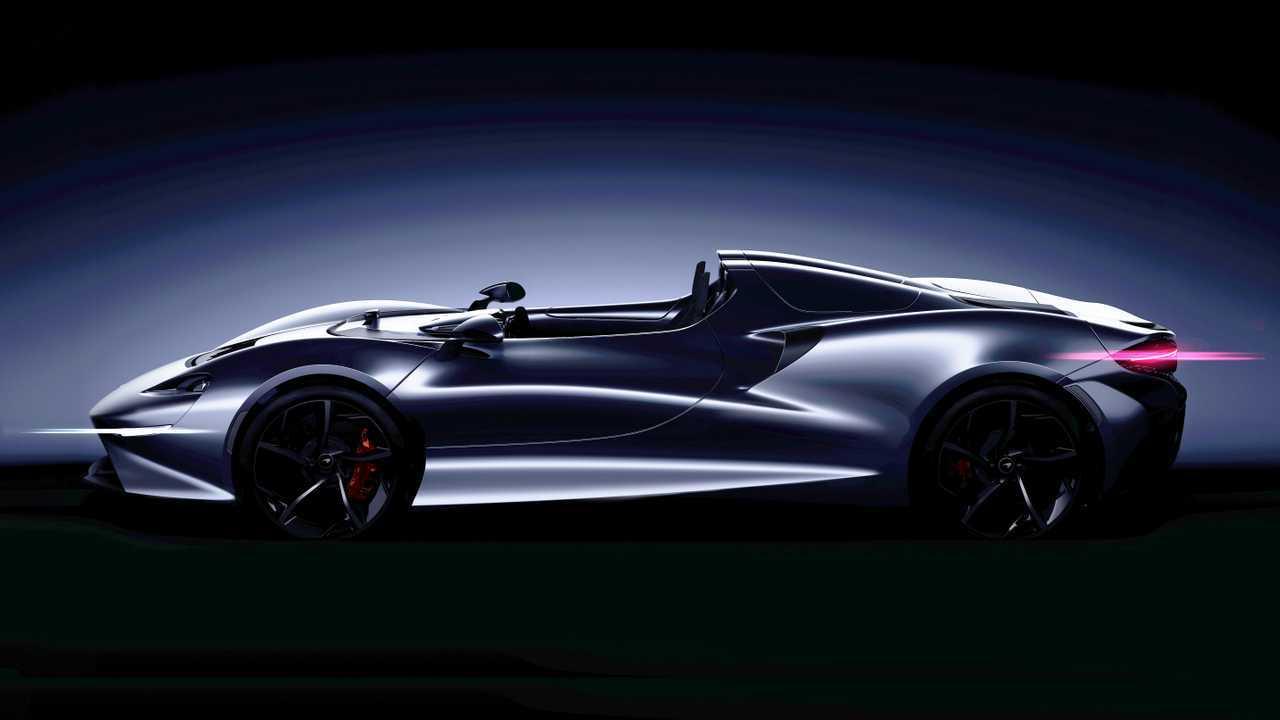McLaren Speedster Teased Revealing World's Tiniest Windshield