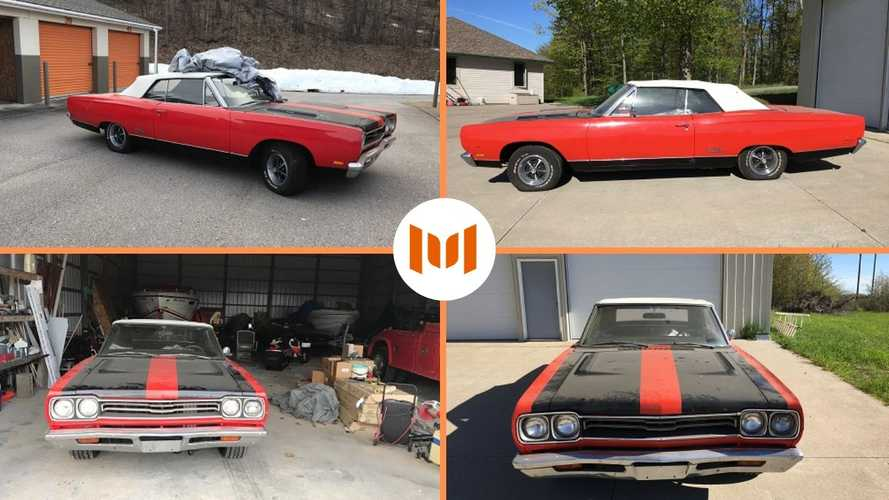 Michigan Sheriff Auctioning Barn Find 1969 Plymouth GTX Convertible
