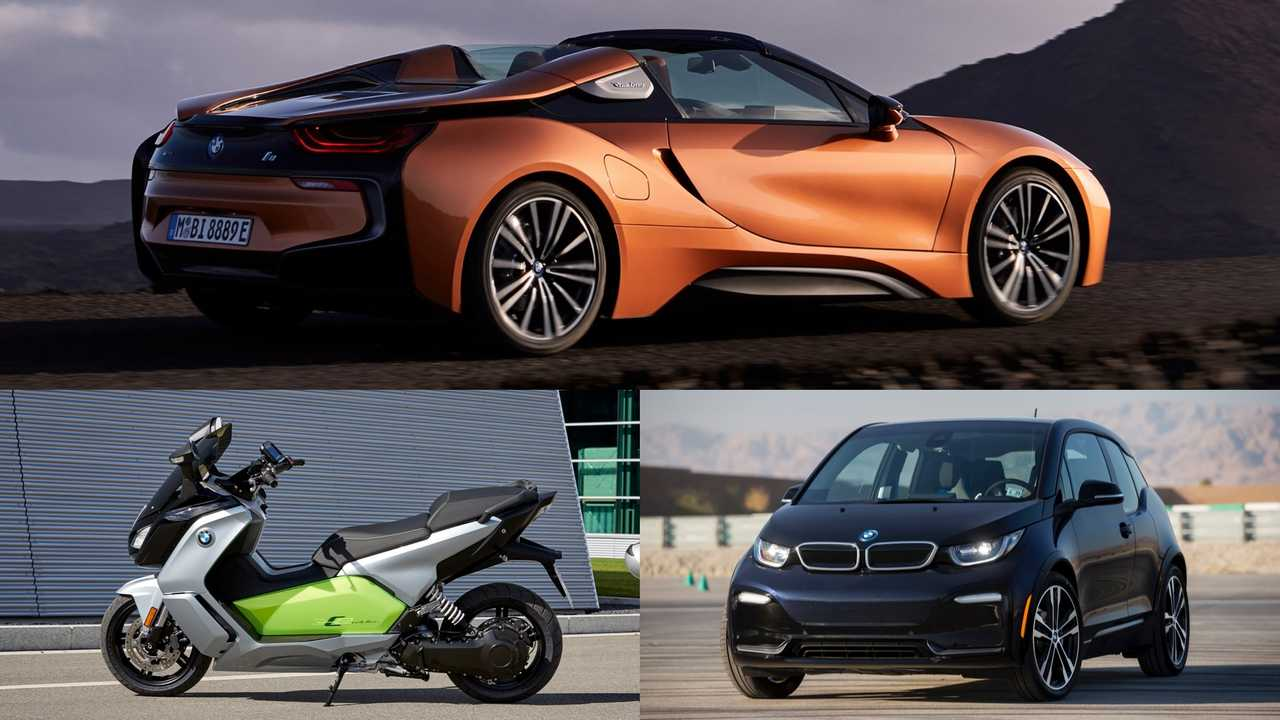 BMW: Evolution C1, i3s, i8 Roadster