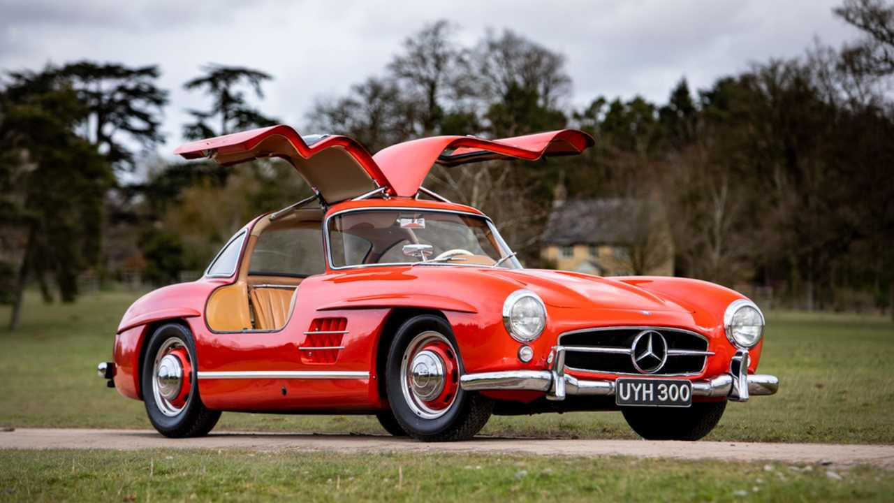 1954 Mercedes-Benz 300Sl Gullwing Silverstone Auctions