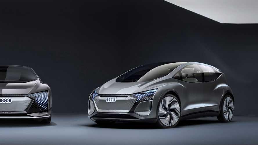 Futurisztikus megjelenéssel mutatták be az Audi AI:ME tanulmányt