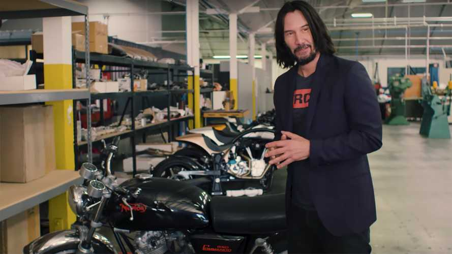 Keanu Reeves Takes Us On A Tour Of His Bike Collection