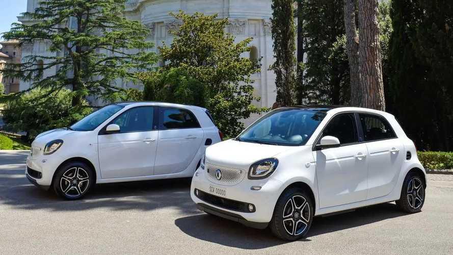 Due smart elettriche in Vaticano