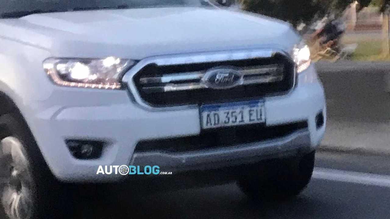 Ford Ranger 2020 - Flagra na Argentina