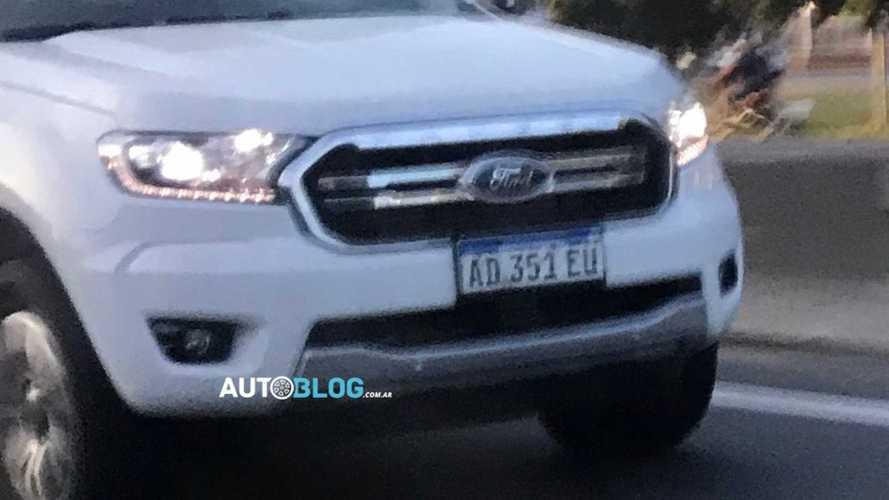Flagra: Ford Ranger renovada já roda na Argentina e chega no 2º semestre