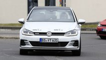 VW Golf GTD test mule
