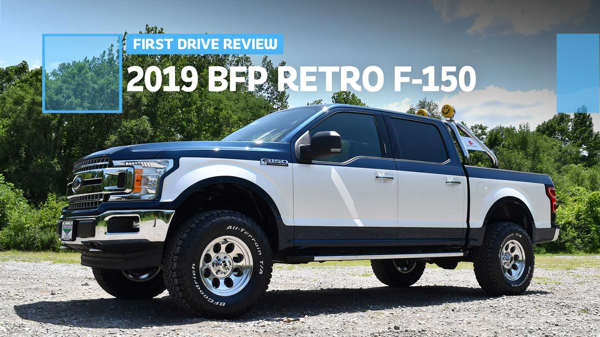 New Ford Truck >> Bfp Ford F 150 Retro First Drive What S Old Is New