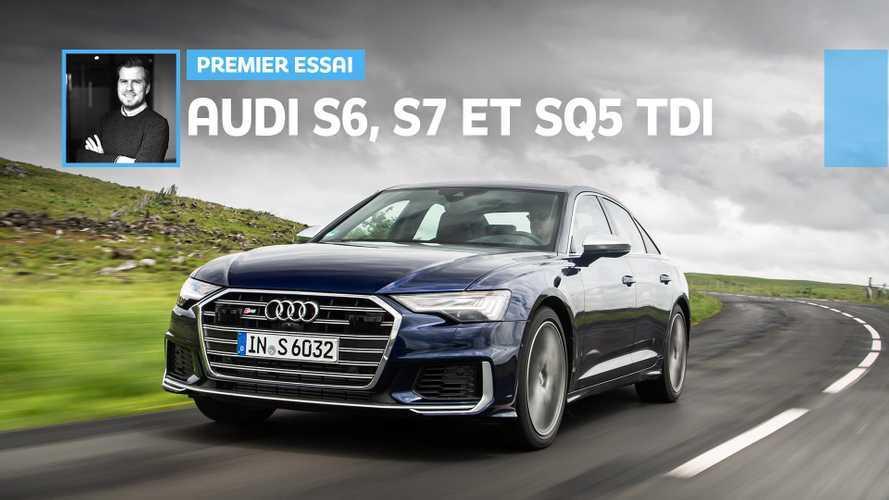 Audi S6, S7 et SQ5 TDI - Le nouveau V6 TDI à l'essai