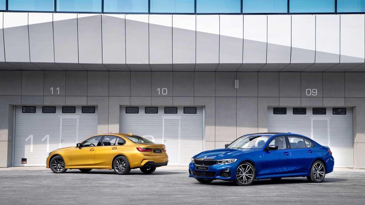 Uzun Aks Mesafeli 2019 BMW 3 Serisi (Çin'e Özel)