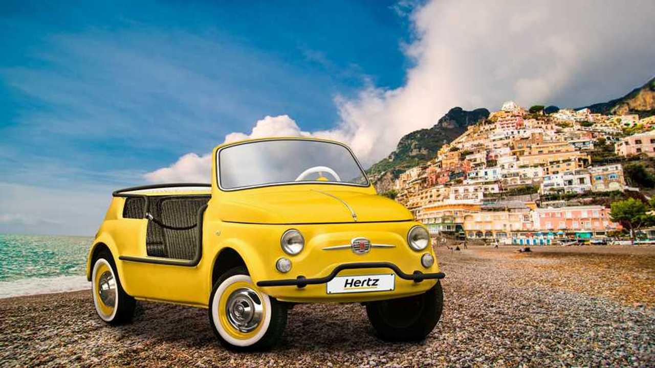 La Fiat 500 Jolly di Hertz