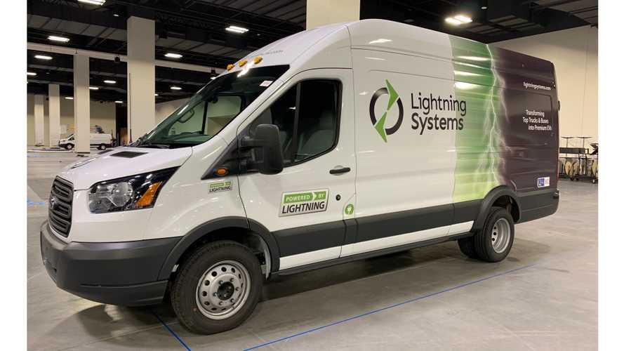 2nd Gen Lightning Systems Ford Transit 350HD Gains 20% Electric Range
